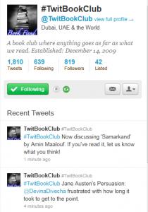 TwitBookClub