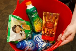 Tryvertisers - basket of five goods