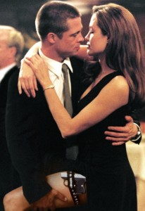 Brad Pitt and Angelina Jolie in 'Mr. and Mrs. Smith'